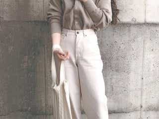 ワイドパンツをすっきり着こなすコツ&コーデまとめ|腰張り体型・ぽっちゃりさんでも似合わせ可!