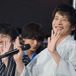 田中圭&林遣都『劇場版おっさんずラブ』お泊りロケは「平成最後の満月の夜」とニヤリ