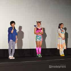 しんのすけ、小林由美子、フワちゃん、仲里依紗、高橋渉 (C)モデルプレス