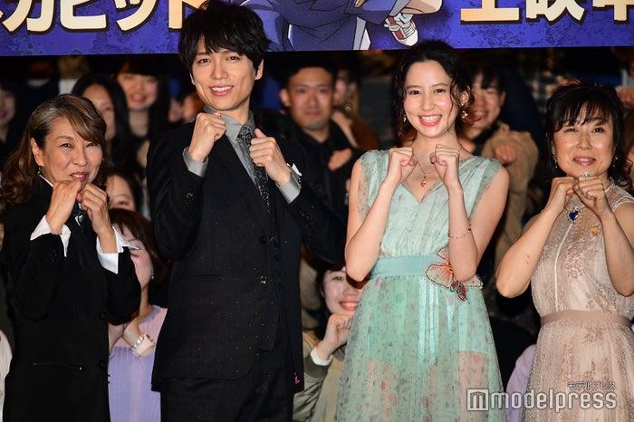 映画「名探偵コナン 紺青の拳」公開記念舞台挨拶 (C)モデルプレス
