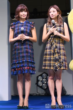 AAAの宇野実彩子と伊藤千晃(右) (C)モデルプレス