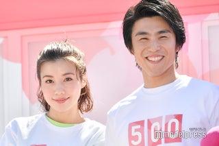 中尾明慶&仲里依紗、夫婦揃って初の公の場 2020パラリンピックに向けて迫力体験