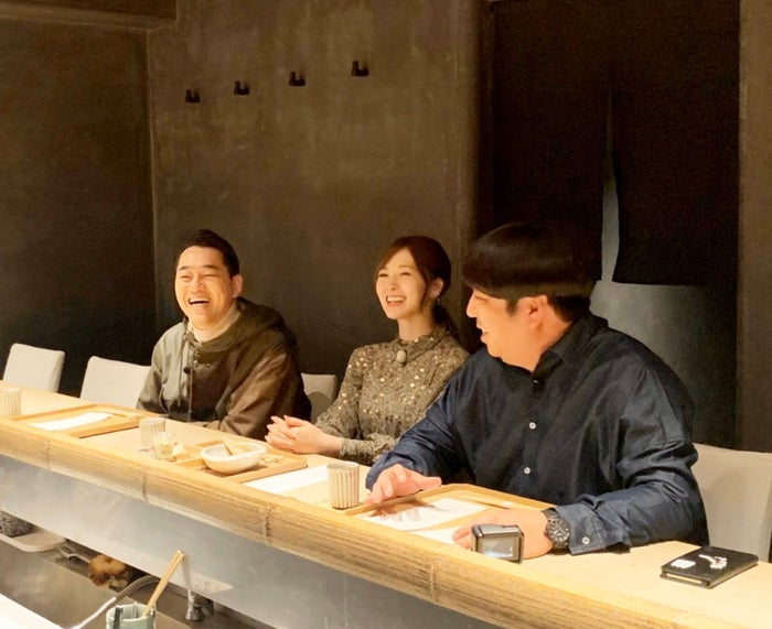設楽統、白石麻衣、日村勇紀 (C)テレビ朝日