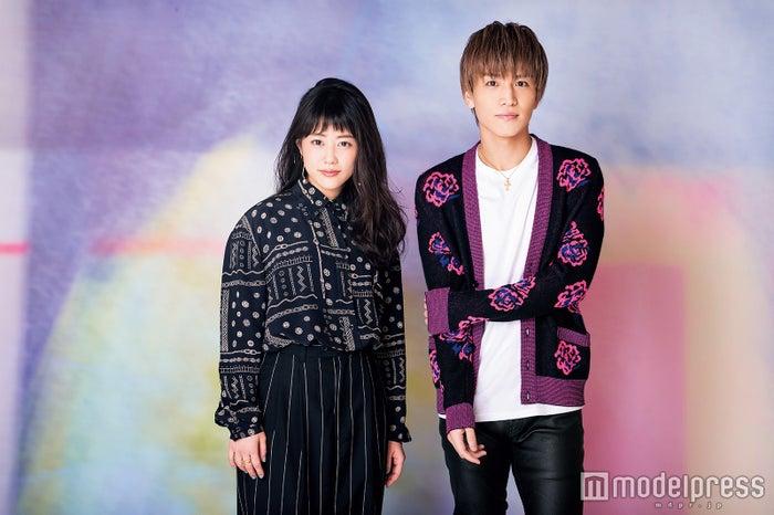 (左から)高畑充希、岩田剛典/「月刊EXILE」7月号より(画像提供:LDH)