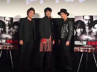 「HiGH&LOW」TAKAHIRO&登坂広臣は「遠い存在」 斎藤工が胸中明かす