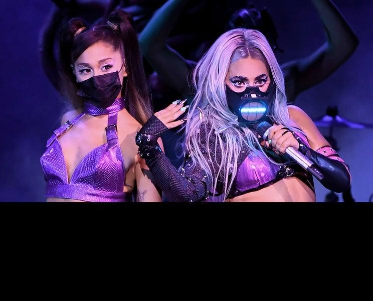 レディー・ガガ&アリアナ・グランデ、マスク着用パフォーマンス「激しいのにすごい」「マスクすらも一つの演出に」と話題