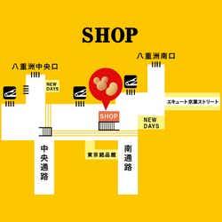 店舗マップ(C)Disney