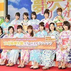 モデルプレス - AKB48、フジ「お台場夢大陸」イメージキャラクター就任 浴衣姿で魅せる