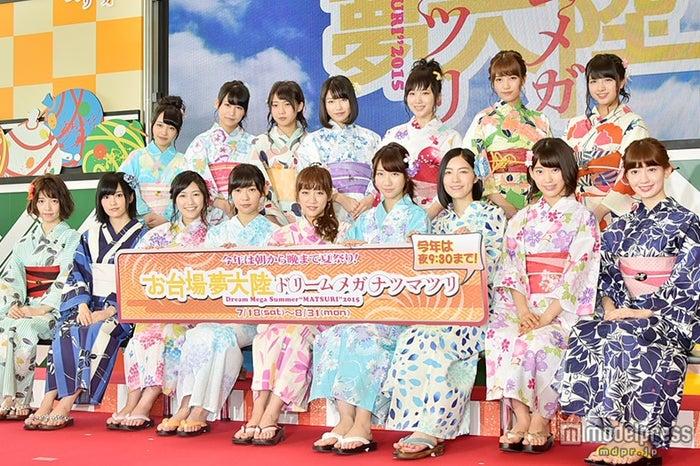 AKB48、フジ「お台場夢大陸」イメージキャラクター就任【モデルプレス】