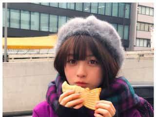 橋本環奈、たい焼きを食べる姿も「天使」「何していても可愛い」と注目集める
