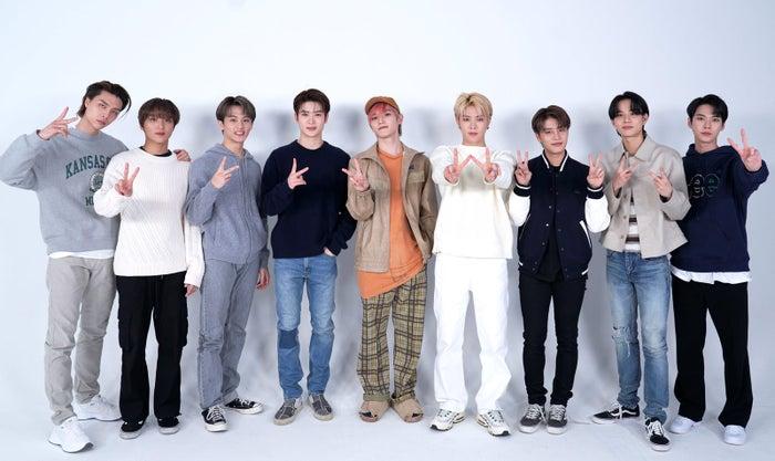 NCT 127/(左から)ジャニー、ヘチャン、マーク、ジェヒョン、テヨン、ユウタ、テイル、ジョンウ、ドヨン (提供写真)
