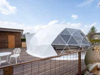 仙台初・ドームテントに泊まれるグランピング施設「Glamping Spa Sendai 杜 ~KOMOREBI~」誕生
