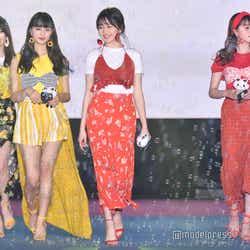 (左から)中野恵那、鶴嶋乃愛、久間田琳加、加藤ナナ、徳本夏恵(C)モデルプレス