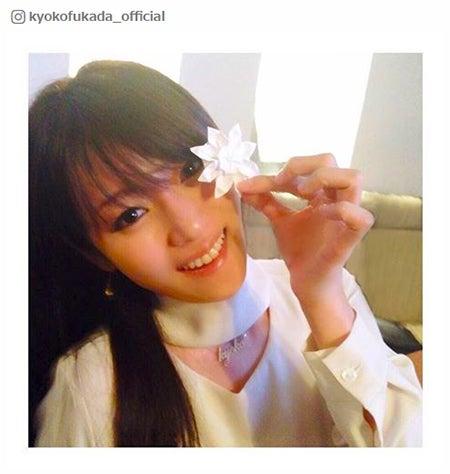 番組で紹介された折り紙の投稿/深田恭子Instagramより