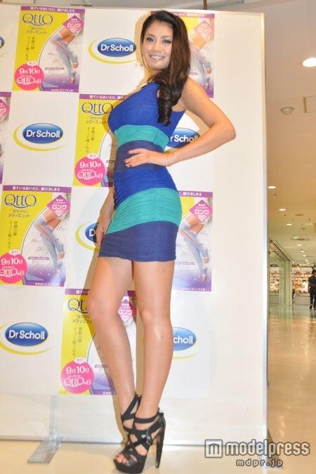 圧倒的な美脚を披露したミス・ユニバース日本代表の原綾子