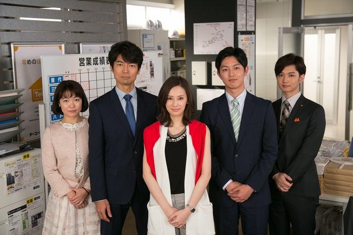 (左から)イモトアヤコ、仲村トオル、北川景子、工藤阿須加、千葉雄大(画像提供:日本テレビ)