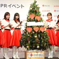 (左から)星野みなみ、山下美月、齋藤飛鳥、堀未央奈、与田祐希(C)モデルプレス