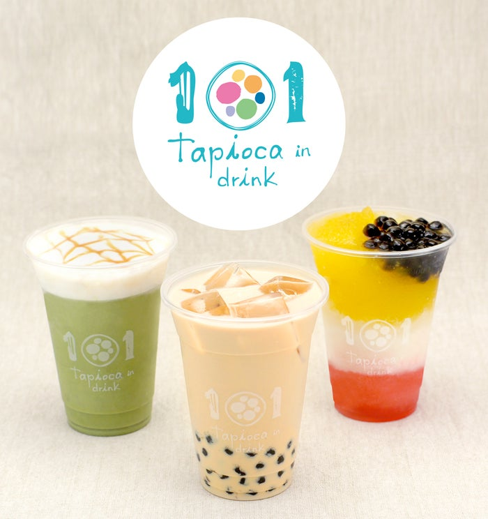 タピオカ店101(ワン・オー・ワン)/画像提供:グレイス株式会社