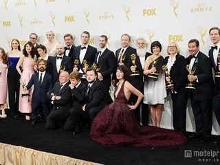 エミー賞、作品賞「ゲーム・オブ・スローンズ」が受賞 人気シリーズが初の快挙