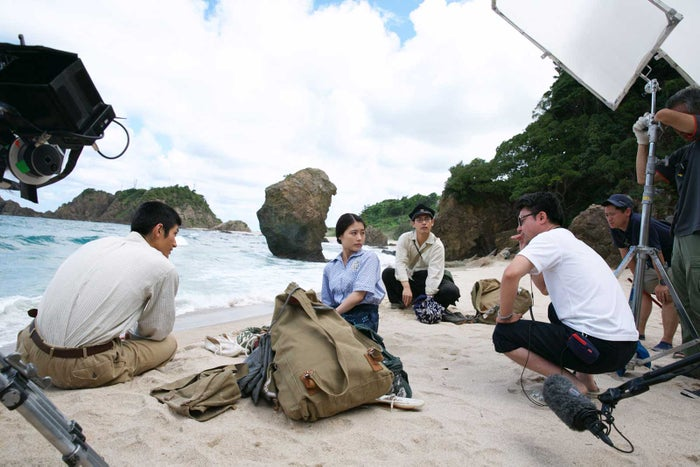 三浦春馬さん、有村架純、柳楽優弥(C)ELEVEN ARTS Studios/2021「太陽の子」フィルムパートナーズ