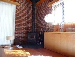 暖炉も「TERRACE HOUSE OPENING NEW DOORS」(C)フジテレビ/イースト・エンタテインメント