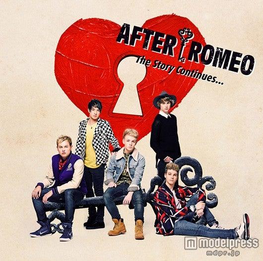 アフター・ロミオの1stアルバム「The Story Continues…」(4月1日発売)初回盤B