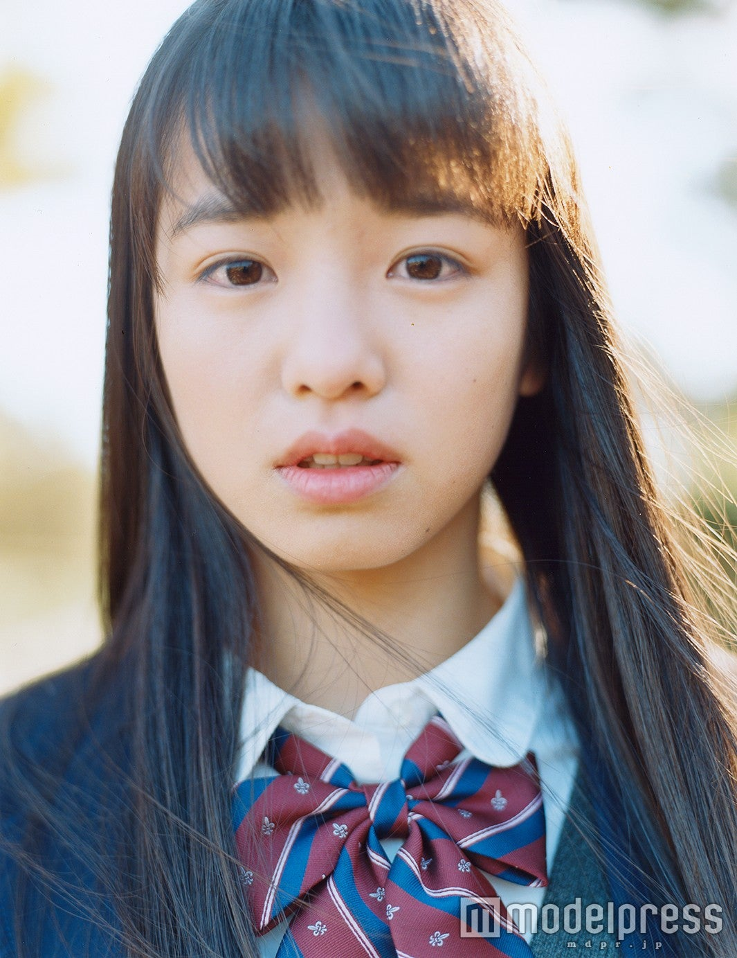 雑誌「Seventeen」専属モデルの横田真悠(画像提供:所属事務所