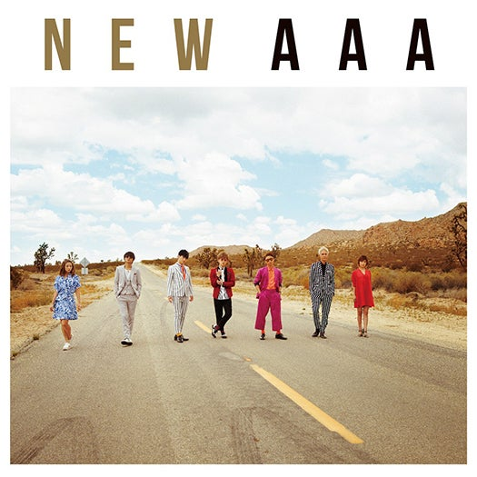 AAAの51枚目のシングル『NEW』(6月8日発売)CD