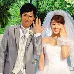 モデルプレス - 安めぐみ&東貴博、結婚披露宴後に会見「幸せMAXです」