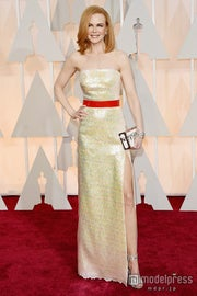 ニコール・キッドマン、大胆スリットドレスで女神の輝き アカデミー賞レッドカーペットに登場/photo:Getty Images【モデルプレス】