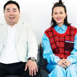 """""""大好き""""が止まらない! 臼田あさ美と塚地武雅、大人のK-POP対談。"""