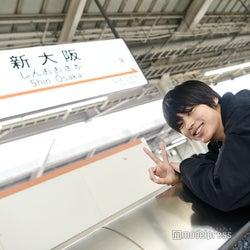 神尾楓珠、大阪に初上陸 モデルプレスが独占密着<うちの執事が言うことには>