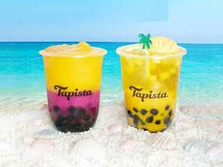 「タピスタ(Tapista)」に南国テイストのマンゴードリンク2種、夏限定ソーダ&スムージー
