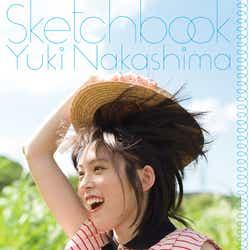 中島由貴の写真集「スケッチブック」(2月2日発売)Amazon限定版表紙(オビあり)(提供写真)