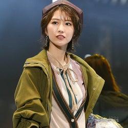欅坂46土生瑞穂、ベレー帽が似合いすぎ 爽やかランウェイで笑顔振りまく<TGC2019A/W>
