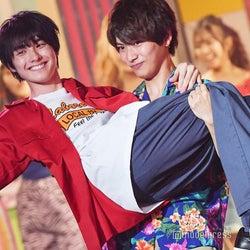 那須泰斗、本田響矢をお姫様抱っこ 会場から黄色い声沸き上がる<Popteen#真夏のティーンズフェス2019>