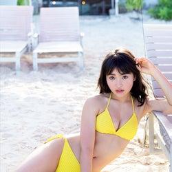 """""""日本一かわいい女子高生""""福田愛依、初の水着撮影で可憐な美貌あらわ"""