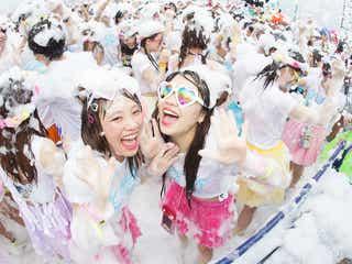 泡まみれで弾ける「バブルラン」がパワーアップ 夏のおもしろランイベント&フェスが目白押し