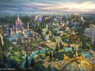 ディズニーシー 3エリア導入発表「アナと雪の女王」「塔の上のラプンツェル」「ピーター・パン」ほか最上級ホテルも新設