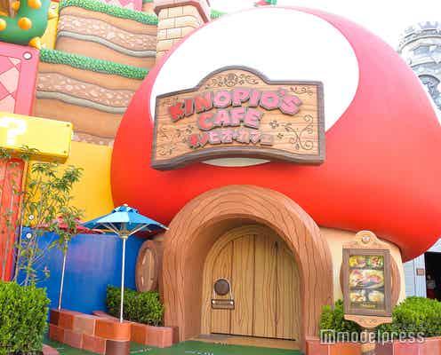 USJ「キノピオ・カフェ」シェフキノピオの遊び心あるフード&ゲームの世界そのままの内装に心躍る