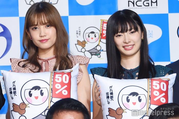 AKB48(左から)加藤玲奈、武藤十夢(C)モデルプレス