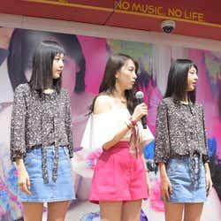 JY(中央)とりかりこ「好きな人がいること」ダンス披露(C)モデルプレス