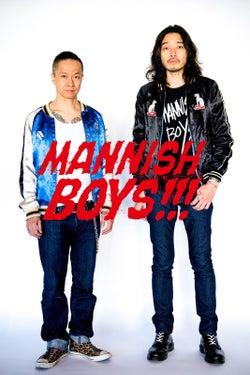 MANNISH BOYS(提供写真)