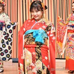 """モデルプレス - AKB48グループ成人式、個性光る振袖ファッションが可愛い HKT48村川緋杏は""""竜宮城""""がテーマ"""