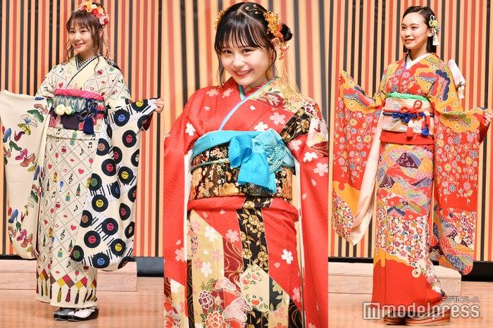 (左から)松本慈子、村川緋杏、豊永阿紀 (C)モデルプレス