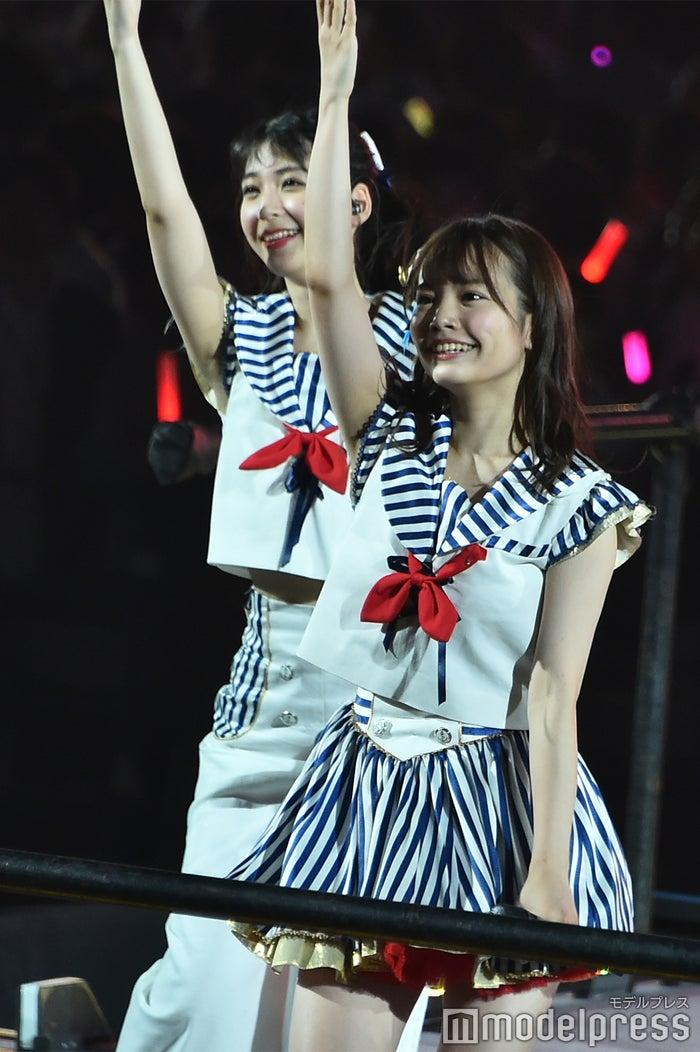 松岡菜摘、渕上舞/「AKB48 53rdシングル 世界選抜総選挙」AKB48グループコンサート(C)モデルプレス