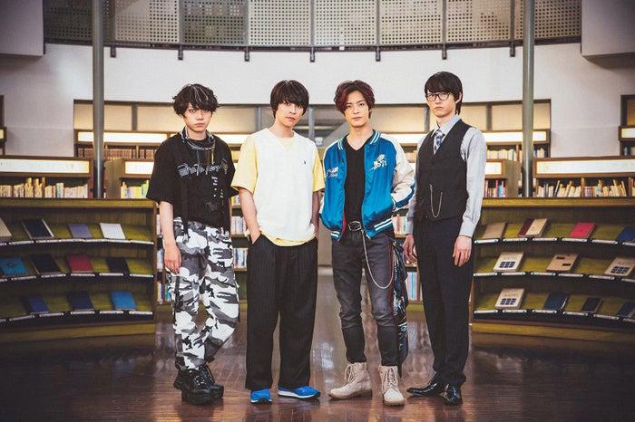 (左から)佐藤流司、西銘駿、塩野瑛久、和田雅成(C)ABCテレビ