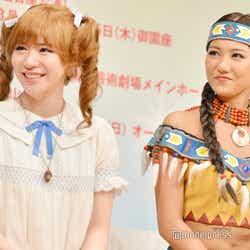 (左から)河西智美、宮澤佐江(C)モデルプレス