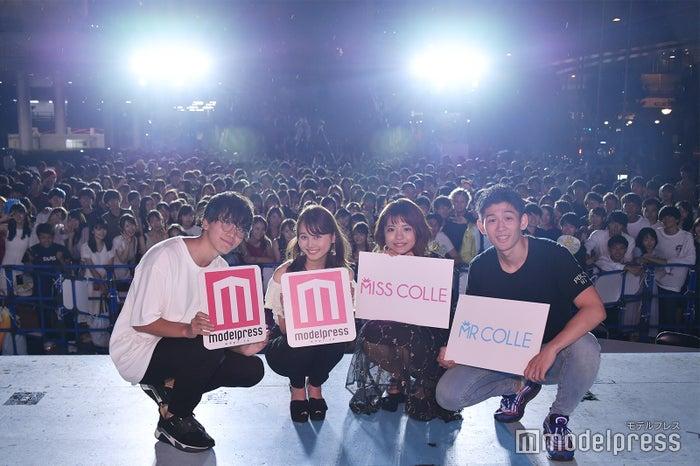 (左から)山口航大さん、中林奈々さん、山口友理香さん、菅原昌平さん(C)モデルプレス