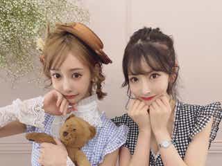 """""""明日花キララガチファンYouTuber""""Rちゃん、本人と初2ショット「この上なき幸せ」双子コーデに反響"""